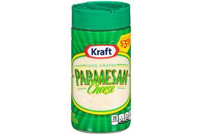 Kraft 100% Grated Parmesan Cheese 8 Oz. Shaker