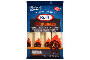 Kraft Hot Habanero String Cheese - 12Ct