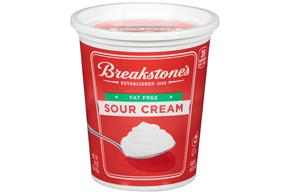 Breakstone's Fat Free Sour Cream 16 Oz. Tub