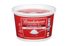 Breakstone's Small Curd 4% Milkfat Min. Cottage Cheese 16 Oz. Tub