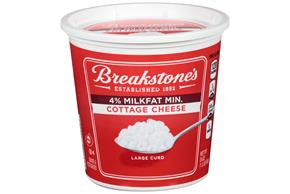Breakstone's Large Curd 4% Milkfat Min. Cottage Cheese 24 Oz. Tub