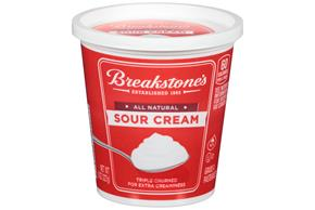 Breakstone's All Natural Sour Cream 8 Oz. Cup