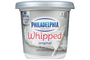 Philadelphia Plain Cream Cheese-Whipped 12 Oz Tub
