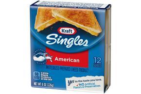 Kraft Singles American Cheese Slices 12 Ct Pack