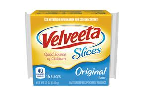 Velveeta Slices Original Cheese 16 Ct Pack