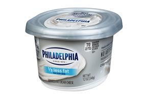 Philadelphia Plain Light 1/3 Less Fat Cream Cheese-Soft 12 Oz Tub