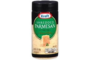 Kraft Shredded Parmesan Cheese 7 Oz. Shaker