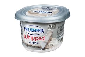 Philadelphia Whipped Original Cream Cheese Spread 8 Oz. Tub