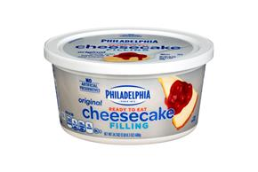 Kraft Philadelphia Heavenly Classic Ready-To-Eat Cheesecake Filling 24.3 Oz Tub