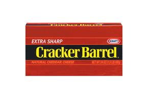 Kraft Cracker Barrel Cheddar Extra Sharp Cheese 24 Oz Brick