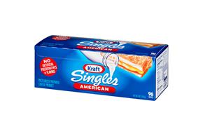Kraft Singles American Cheese Slices 4 Lb Box (96 Slices)