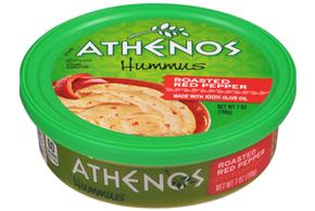 Athenos Roasted Red Pepper Hummus 7 oz. Tub