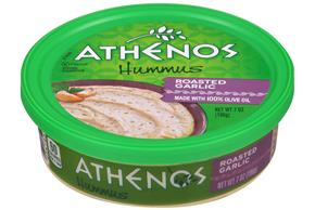 Athenos Roasted Garlic Hummus 7 oz. Tub