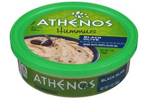 Athenos Black Olive Hummus 7 oz. Tub