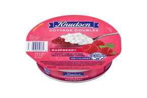 Knudsen Cottage Cheese Doubles - Raspberry 3.9 Oz Tray