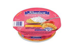 Knudsen Cottage Cheese Doubles - Mango 3.9 Oz Tray
