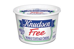 Knudsen Free - Nonfat Cottage Cheese 16 Oz Tub