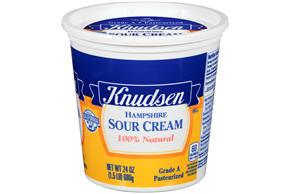Knudsen Hampshire Sour Cream 24 Oz Tub