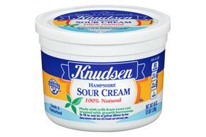 Knudsen Hampshire Sour Cream 3 Ib Tub