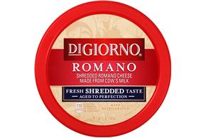 Digiorno(R) Shredded Romano Cheese 5 Oz. Tub