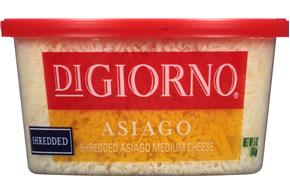 Digiorno(R) Shredded Asiago Cheese 5 Oz. Tub