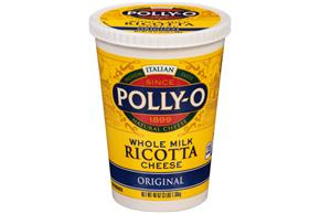 Polly-O Original Whole Milk Ricotta Cheese 48Z Tub