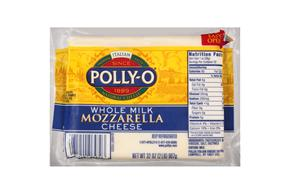 Polly-O Whole Milk Mozzarella Cheese 32Z Bag