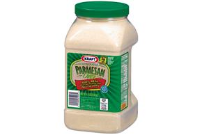 Kraft Grated Cheese 100% Real Parmesan Cheese 4.5 Lb Plastic Jar