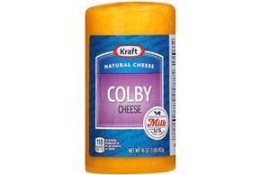 Kraft Natural Longhorn Style Colby Cheese - 16Oz