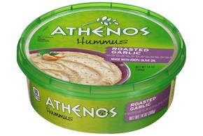 Athenos Roasted Garlic Hummus 14 oz. Tub