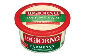 Digiorno Parmesan Shaved Cheese 5 Oz Plastic Tub