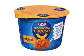 Kraft Original Flavor Macaroni & Cheese Dinner 2.05 oz. Microcup