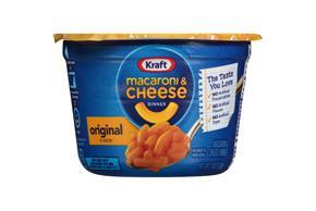 Kraft Original Flavor Macaroni & Cheese Dinner 2.05 oz. Microcup