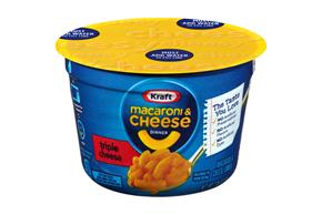 Kraft Triple Cheese Macaroni & Cheese Dinner 2.05 oz. Microcup