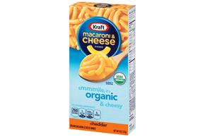 Kraft Organic Cheddar Macaroni & Cheese Dinner 6 oz. Box