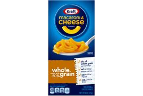 Kraft Original Flavor Whole Grain Macaroni & Cheese Dinner 6 oz. Box