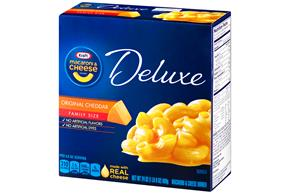 Kraft Dinners Deluxe Original Cheddar Family Size Macaroni & Cheese Dinner 24 Oz Box