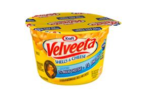 Kraft Velveeta Shells & Cheese Made with 2% Milk Cheese 2.19 oz. Microcup