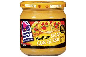 Taco Bell(R) Medium Salsa Con Queso 15 Oz Jar