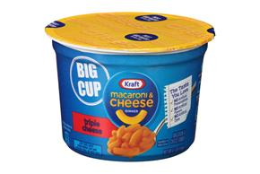 Kraft Triple Cheese Macaroni & Cheese Dinner 4.1 oz. Microcup