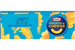 Kraft Cheddar Explosion Macaroni & Cheese Dinner 5.5 oz. Box