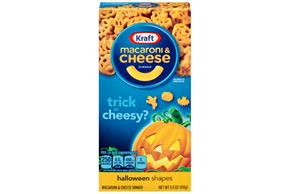 Kraft Halloween Shapes Macaroni & Cheese Dinner 5.5 oz. Box