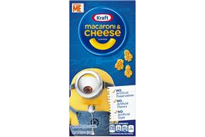 Kraft Minions Shapes Macaroni & Cheese Dinner 5.5 oz. Box