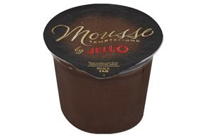 Jell-O Mousse Temptations Pudding Ready To Eat  Dark Chocolate Decadence Sugar Free 4 Ct Cups