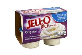 Jell-O Pudding Ready To Eat Rice Sugar Free 4 Ct Cups
