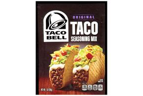 Taco Bell(R) Original Taco Seasoning Mix 1 oz. Packet