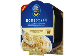 Kraft Macaroni & Cheese Homestyle White Cheddar Cheese Dinner 4 oz Microwave Bowl