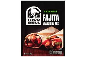 Taco Bell(R) Original Fajita Seasoning Mix 1.4 oz. Packet