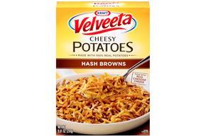 Kraft Velveeta Cheesy Potatoes Hash Browns 9.01 oz. Box
