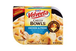Kraft Velveeta Cheesy Bowls Chicken Alfredo 9 oz. Tray